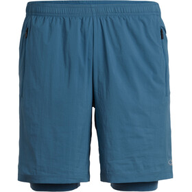 Icebreaker Impulse Hardloop Shorts Heren blauw